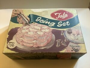 Vintage 'Tala Icing Set No. 1705 Complete & Boxed