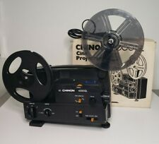 Vintage CHINON 4000GL 8mm and Super 8 Reel Adjustable Speed Projector Needs Bulb