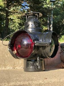 Adams & Westlake Adlake #63 Railroad Switch Lamp Lantern Train Signal Light