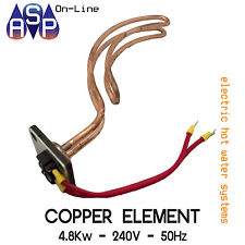 HOT WATER SYSTEM ELECTRIC COPPER ELEMENT 4.8Kw - 240V - 50Hz