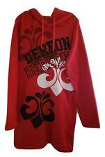 Dereon Red & Black LS Fleece Hoodie