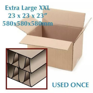 20 MOVING BOXES USED ✔ 1x Extra Large Double Wall + 19x Small/Medium