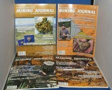 4 Back Issues JCMJ's Prospecting and Mining Journal