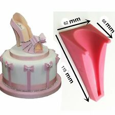 Silicone Stilleto High Heel Lady Shoe Mold For Wedding Cake Decoration fondant