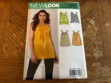 New Look Pattern 6245 Ms Top w/Neck Casing & Tie w/Hem~Trim Variations Sz XS-XL