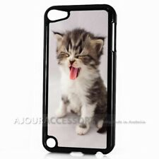 ( For iPod Touch 6 ) Back Case Cover AJ10666 Cute Pussy Cat