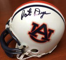 Pat Dye Signed Auburn Mini Helmet AUTOGRAPH w/ COA & 100% Guarantee SIGNED AU