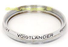 Voigtlander 317/41 AR 40.5 mm Filtre UV pour Zeiss BIOGON 1:4 .5 F = 21 mm BIOTAR 58 mm