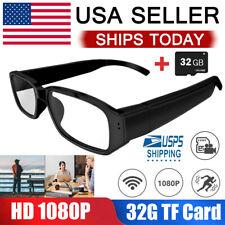 Hidden Sunglasses Spy Camera Audio Video Recorder DVRs Glasses Eyewear HD 1080P