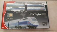 Coffret TGV 2N2 Duplex SNCF analogique - ép VI - HO 1/87 Méhano neuf