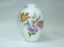 Handbemalte Vase Porzellanfabrik Schönwald um 1900 Blumenmalerei