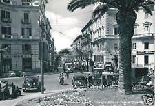 cm 247 1956 NAPOLI Via Scarlatti da piazza Vanvitelli - VG - Taxi Fiat e Filobus