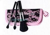 AVON LACE BRUSH SET MAKEUP COSMETIC BRUSHES KIT NEW
