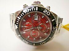 Invicta Men's Pro Diver Automatic Chronograph Watch Valjoux 7750 1070 Red
