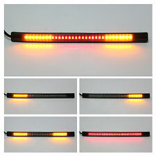 Flexible SMD 48LED Strip Tail Stop Brake Light Tailgate DRL Lamp For Motorbike