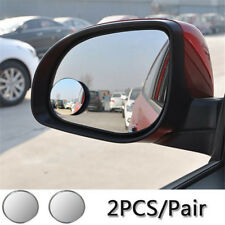 Car Mirror Blind Spot Mirror Wide Angle Round Convex 360 Degree For Parking 2pcs