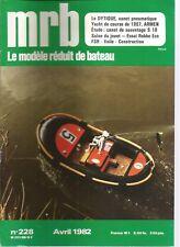 MODELE REDUIT DE BATEAU N°228 PLAN :  CANOT DE SAUVETAGE S18 SNSM / LE DYPTIQUE