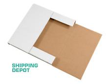 100 Lp Premium Record Album Mailers Book Box Variable Depth Mailers 125x125x1
