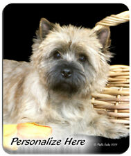Cairn Terrier Personalized Mouse Pad