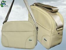 New Authentic LACOSTE Unisex Shoulder Messenger Bag ED Classic 5 Sand