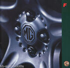 MGF Roadster Prospekt 1995 8/95 D brochure catalog broschyr brosjyre broszura