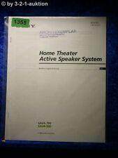 Sony Bedienungsanleitung SAVA 700 / 500 Theather Active Speaker System (#1355)