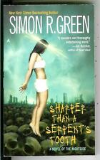 SHARPER THAN A SERPENT'S TOOTH by S. Green US crime horror gga pulp vintage pb
