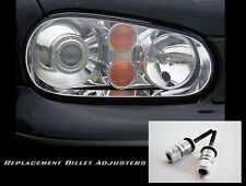 VW MK4 GOLF GTI R32 OEM HID European Headlight BILLET Aluminum Adjusters.