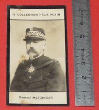 PHOTO IMAGE FELIX POTIN 2ème ALBUM 1907 GENERAL METZINGER MILITARIA