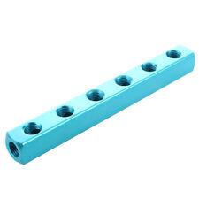 """1/4 """"PT Filettate porte 6 Way Quick Connect tubo flessibile collettore divi G3Y3"""