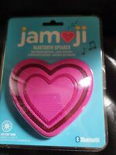 JAM Jamoji Universal Wireless Bluetooth Speaker - Heart Emoji - Rechargeable