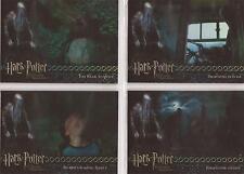 Harry Potter POAU- Foil 4 Card Box Topper Set #BT1-4