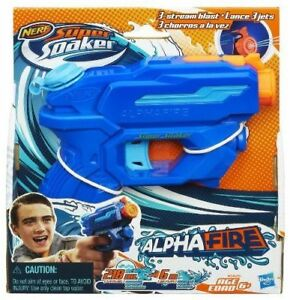 Nerf Supersoaker Water Soaker Alphafire NEW
