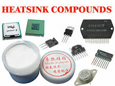 HeatSink Compound White Thermal Grease Heat Transfer Paste CPU IC Transistor 40g