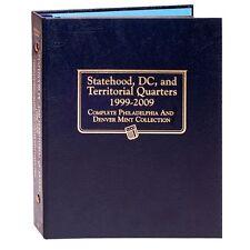 Whitman Album Statehood Quarter 1999-2009 P & D with US Territories & DC #2821