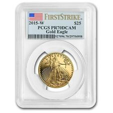 2015-W 1/2 oz Proof Gold American Eagle PR-70 PCGS (First Strike) - SKU #86123