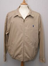 "Ralph Lauren Polo khaki cotton windcheater blouson style jacket XL 46"" 117cm"