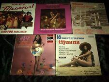 Tijuana Jazz Vinyl LP's X 5 - JOBLOT - Cheesecake / Sexy