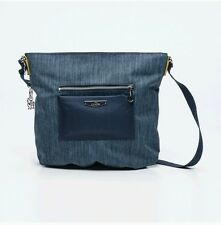 ☆☆Kipling Celestine KC city denim shoulder messenger across body bag rrp£79 NEW