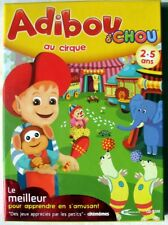 JEU PC CD-ROM  Adibou d'chou au cirque - 2009 - de Mindscape