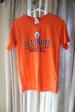 University of Illinois Basketball Chief Illiniwek Shirt S