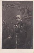 A4853) GABRIELE D'ANNUNZIO, DA UN DIPINTO DI IVO MANZI.