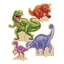 Dinosaurs Dino Blast Birthday Party 4 Stand-up Centerpieces Tableware Decoration