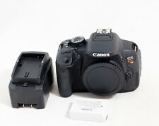 Canon EOS Rebel T4i / 650D 18.0MP Digital SLR Camera Body Only 4K SHUTTER COUNT