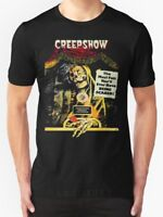 CREEP SHOW T SHIRT BLACK COMEDY HORROR 1980'S HALLOWEEN SKULL FUNNY