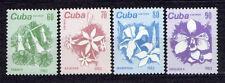 1Cuba 1983 Mi 2810-2813 Flowers - MNH