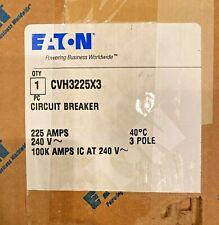 Eaton Circuit Breaker Cvh3225x3 225amps 600v 100k 3pole New Open Box