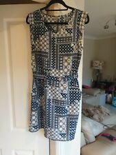 Vestido de verano señoras tamaño 12 pavos reales