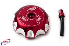 HONDA CRF 250 450 R X 2002-2017 BILLET ALUMINIUM PETROL FUEL GAS CAP RED