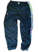 adidas Herren 90s 90er Jogginghose Jogger Sporthose Pants schwarz Gr. D54 XL